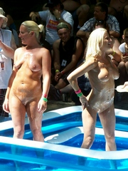 European nudists party, amateur girls..