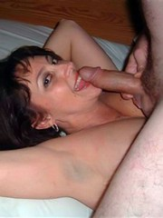 Mature wife sucks cock and getting..