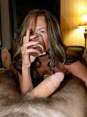 Meeting hot mature mistress in hotel..